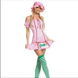 NEW Legs Avenue Strawberry Girl Costume XL